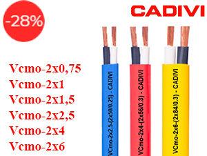 Dây Điện Đôi Mềm Bọc PVC Cadivi VCmo-300/500V
